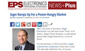 Sager Ramps Up for a Power-Hungry Market
