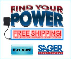 Find Your Power on Sager Electronics' Specialized Website