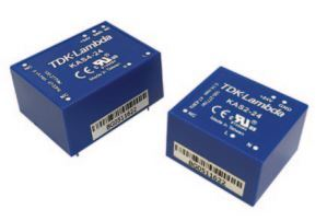 TDK-Lambda KAS2 / KAS4 2 and 4W Board Mount Power Supplies Accept a 90 – 305Vac Input