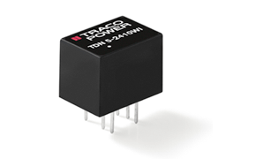Most Compact 5 Watt DC/DC Converter from TRACO Power