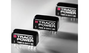 TRACO Power TMR 9 Series High-Density DC-DC Converters