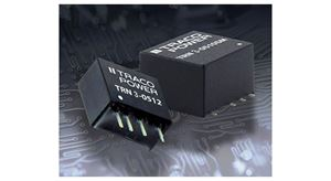 TRACO Power TRN3 and TRN3SM Compact 3 Watt DC-DC in SIP or SMD Package
