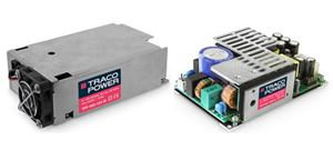 "450 Watt Power Supply in Compact 3x5"" Footprint from TRACO Power"
