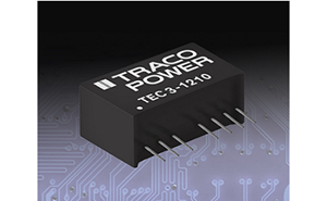 TRACO Power Introduces TEC 3 Series of 3 Watt DC/DC Converters