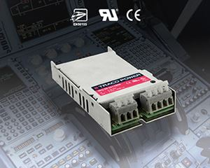 Traco Power TEQ 20WIR family of 20 Watt Chassis Mount DC/DC Converter For Railway / Transit / Industrial markets EN 50155 Approvals