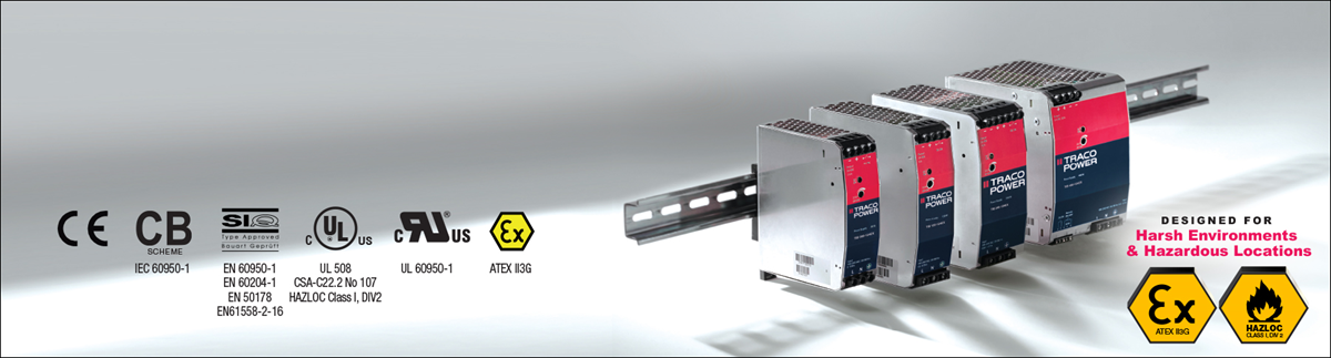 TRACO Power TIB-EX Series   TRACO Power Distributor   Sager