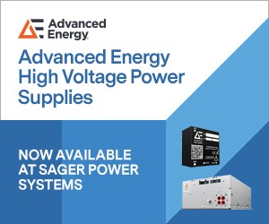 Sager Electronics Authorized for Advanced Energy