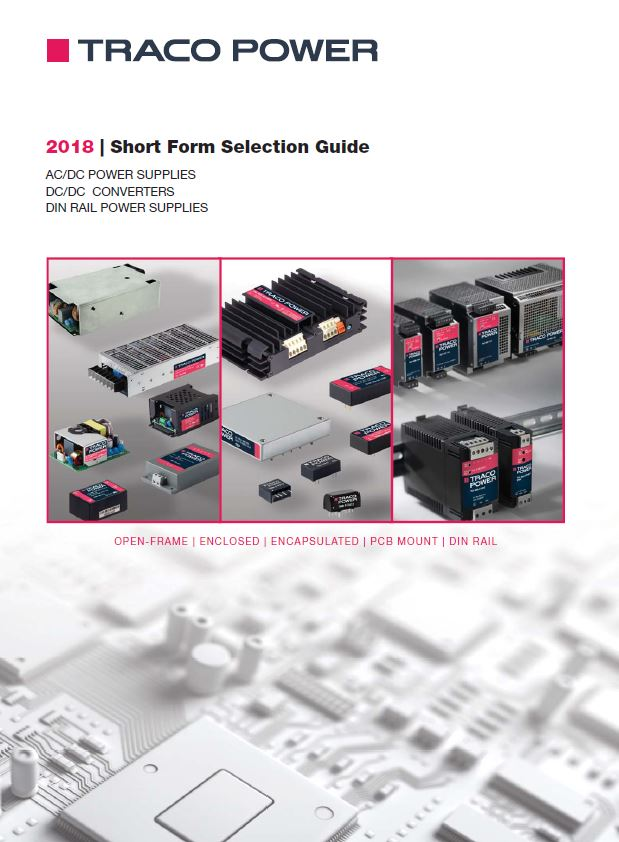 TRACO 2018 Selection Guide