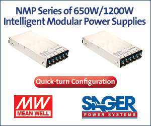 Mean Well NMP Configurable Power Supplies
