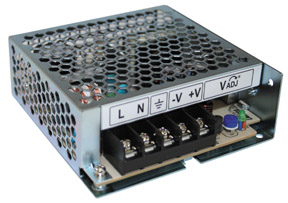 LS100-15  100 W, Single Output, 15 VDC@7:00 AM   AC-DC Power Supply
