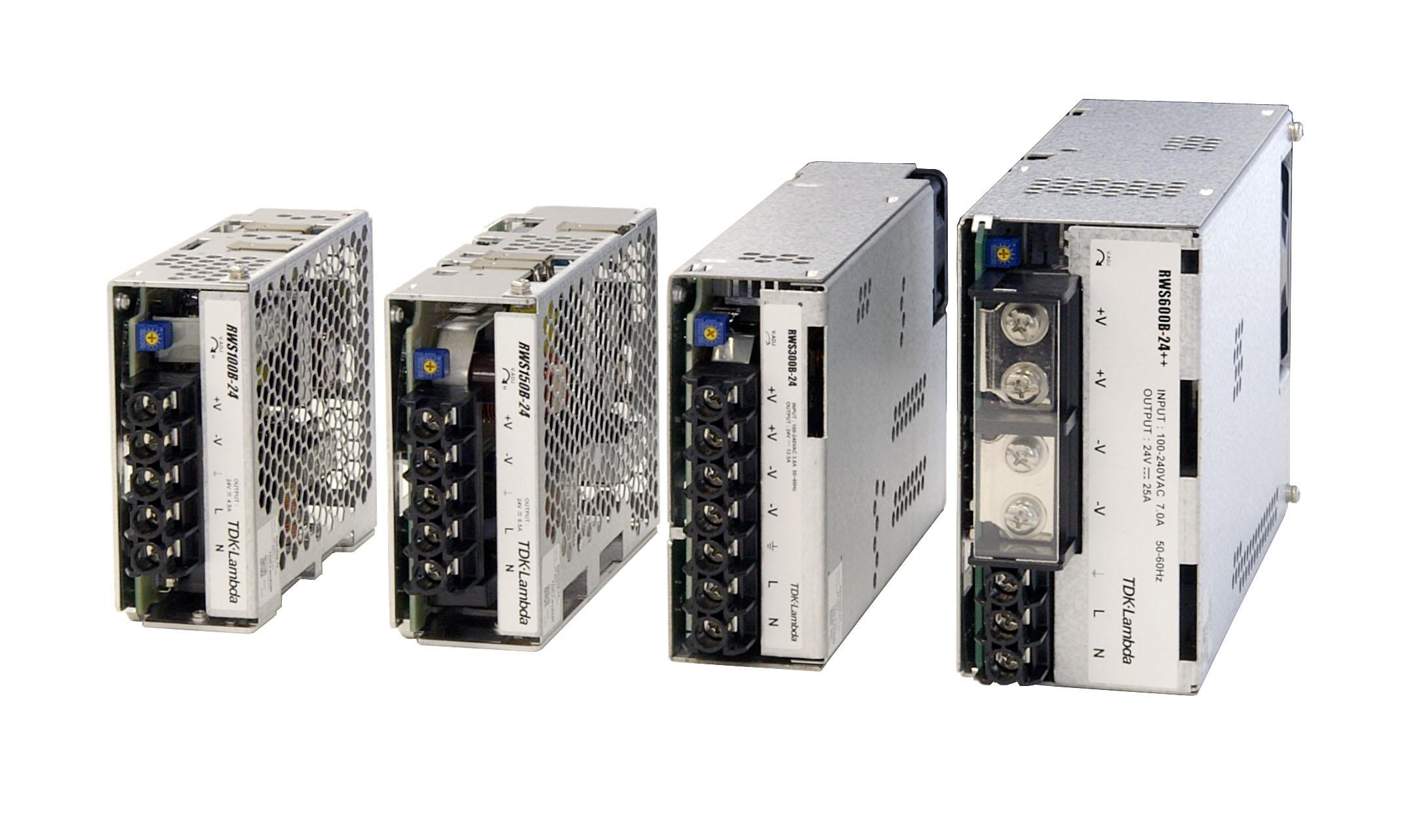 Rws150b 24 Tdk Lambda Open Enclosed Frame Ac Dc Power Supplies Supply Volts To 156 W Single Output Vdc65