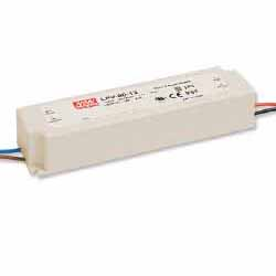 LPV-100-24 MEAN WELL 100 W, SINGLE OUTPUT, 24 V@4.2 A LED LIGHTING PLASTIC AC-DC POWER SUPPLY