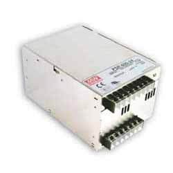 PSP-600-48 MEAN WELL 600 W, SINGLE OUTPUT, 48 V@12.5 A INDUSTRIAL ENCLOSED WITH FAN AC-DC POWER SUPPLY