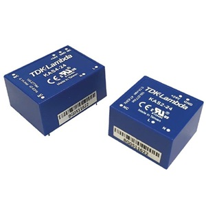 KAS2-12 TDK-Lambda 2 W, Single Output, 12 VDC@0.167 A Industrial Plastic AC-DC Power Supply