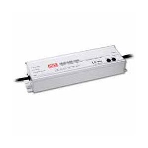 HLG-320H-24 MEAN WELL 320 W, SINGLE OUTPUT, 12-24 V@13.34 A LED LIGHTING METAL AC-DC POWER SUPPLY