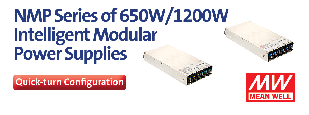 Mean Well NMP Series Configurable Power Supplies